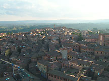 View of Siena, IT